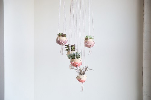 boho hanging planters (via https:)
