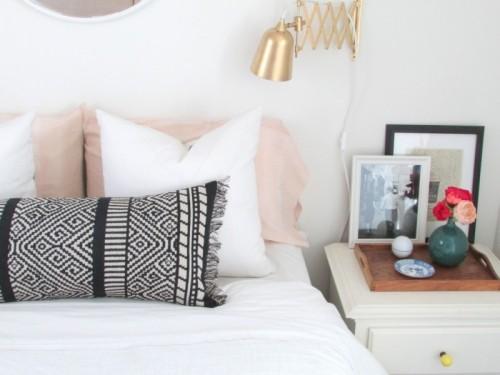 fringed boho lumbar pillow via francoisetmoi - Boho Chic Decor