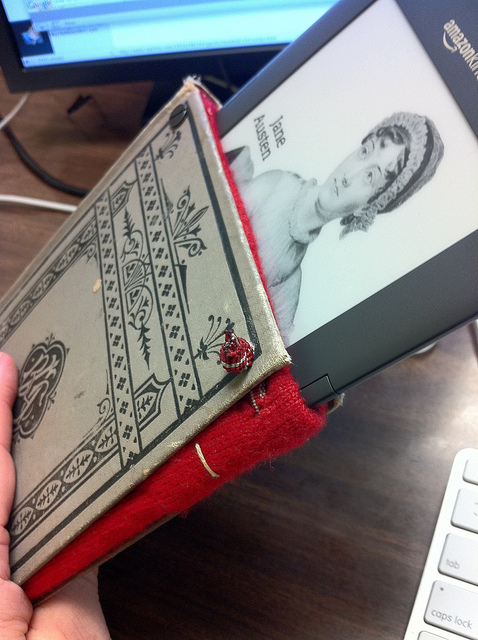 DIY Book Kindle Cover