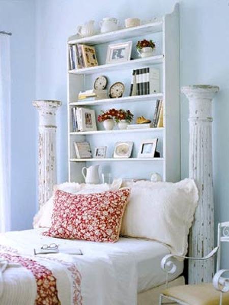 DIY Bookcase Headboard