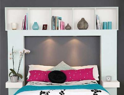 5 DIY Storage Smart Headboards