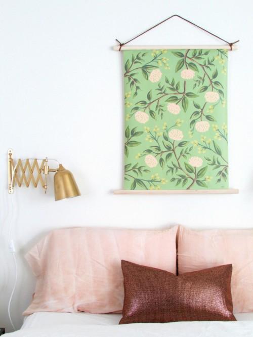 botanical wall hanging (via francoisetmoi)