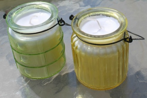 citronella candles of old ones (via themakeyourownzone)
