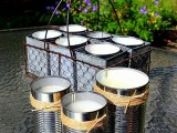 tin can citronella candles