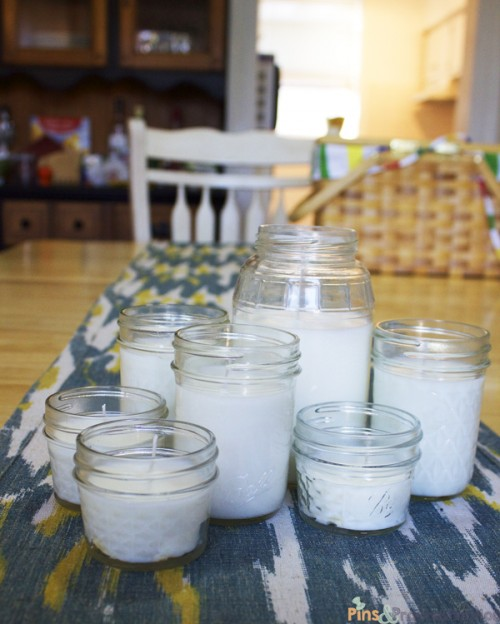 easy citronella candles (via pinsandprocrastination)