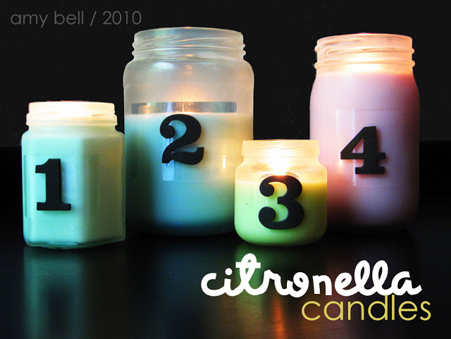 soy wax citronella candles