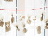 DIY Burlap Advent Calendar