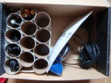 Diy Cable Organizer Of Toilet Paper Rolls