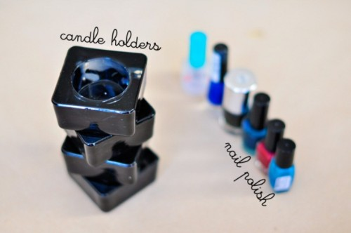 DIY Galaxy Candle Holders For Parties