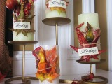 thanksgiving candle wraps