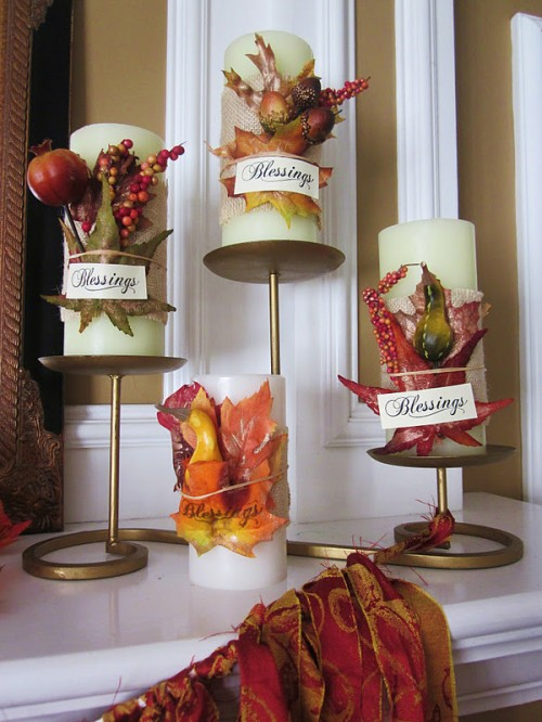 thanksgiving candle wraps (via homespunwithlove)