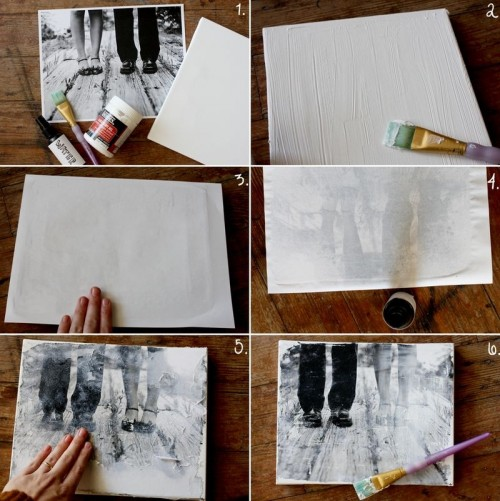 Diy Canvas Of Your Favorite Photos