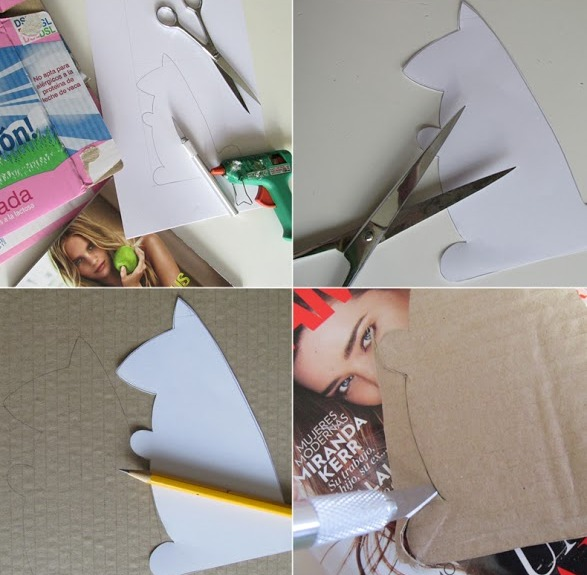 Picture Of diy cardboard squirrel tablet stand  2