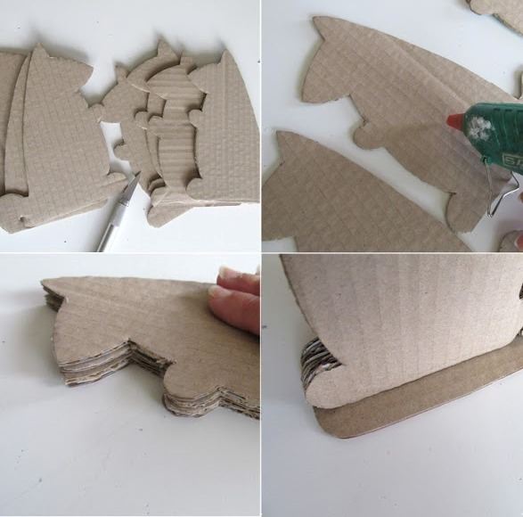 Picture Of diy cardboard squirrel tablet stand  3