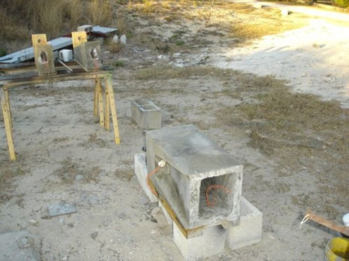 Diy Casual Concrete Lamp For Outside