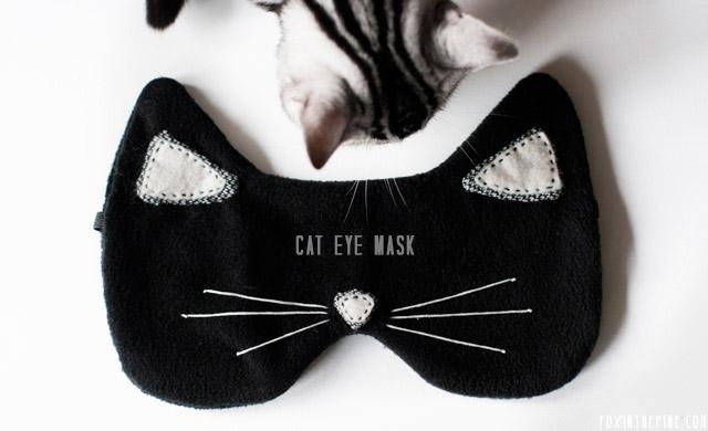Funny Cat Eye Mask For Sleeping