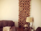 Diy Cedar Logs Wall Decor