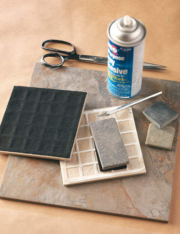Diy Ceramic Tile Table Runner