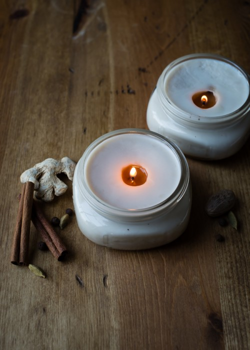 DIY Chai Candles To Bring Some Fall Cheer In