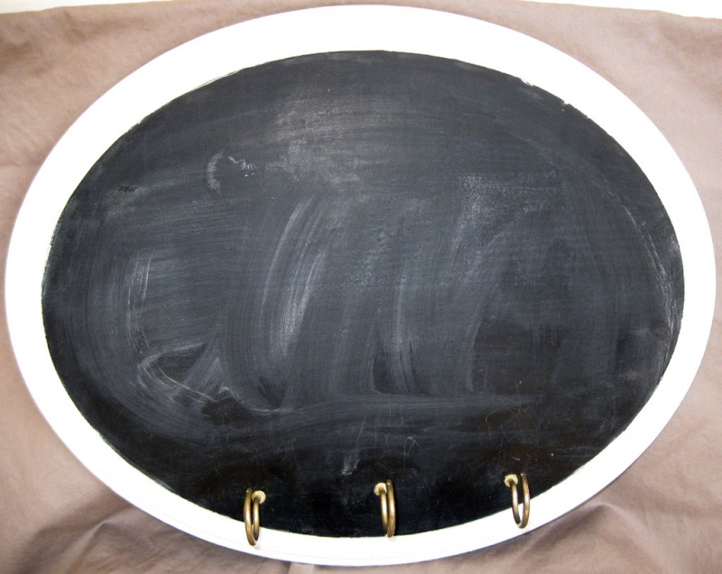 Diy Chalkboard Coat Rack