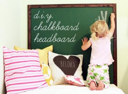 4 DIY Chalkboard Headboards You'll Love