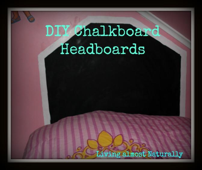 Picture of easy chalkboard headboard for Quick easy headboard ideas