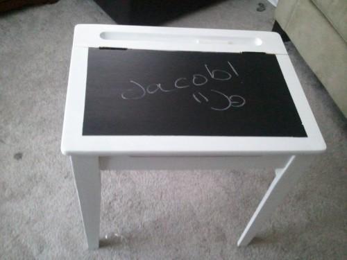 Diy Chalkboard Kids Desk