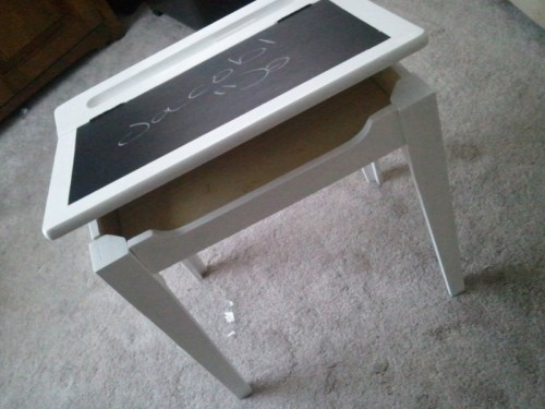 Diy Chalkboard Kids Desk