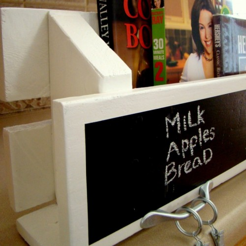 Diy Chalkboard Kitchen Organizer