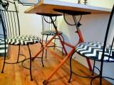 chevron chairs
