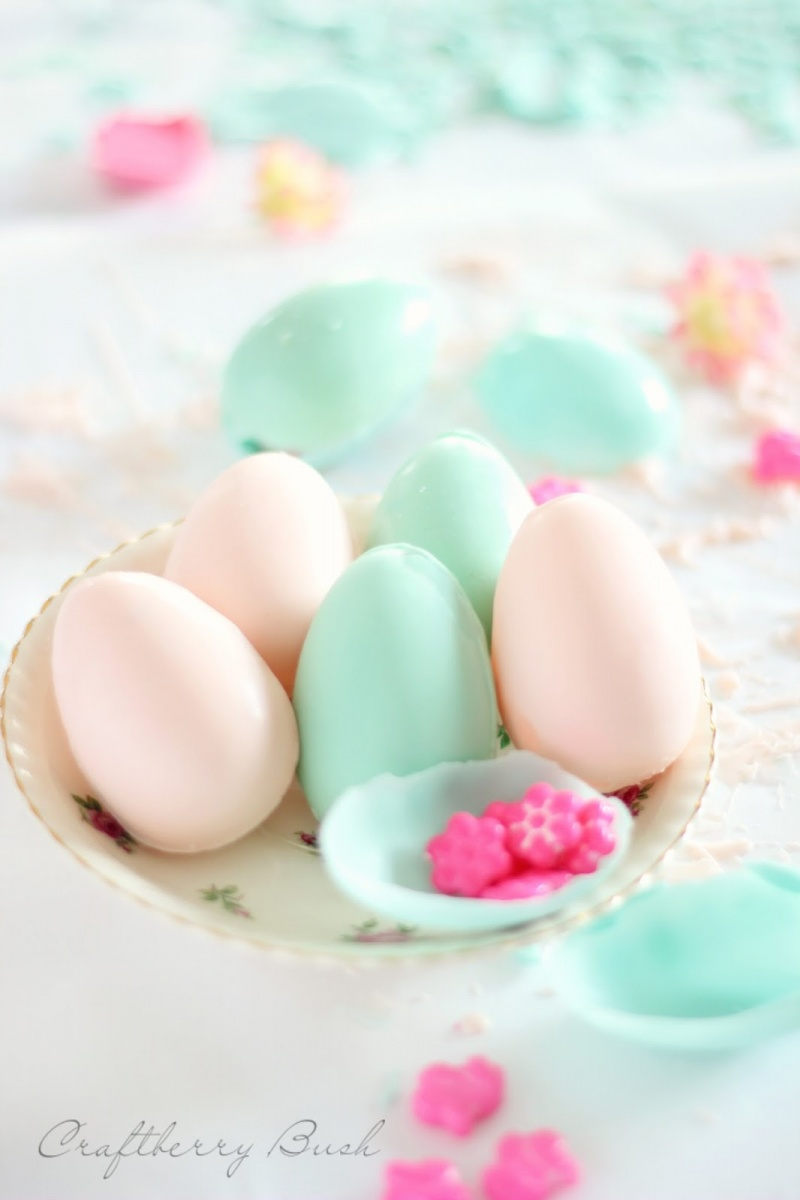 Diy Chocolate Surprise Eggs For Easter