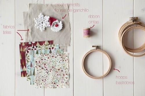 Diy Christmas Crochet Hanging Decorations