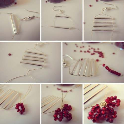 Diy Christmas Earrings