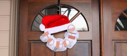 Santa wreath (via craftcuts)