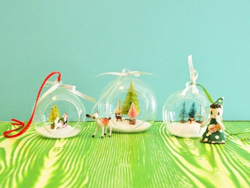 Diy Christmas Hanging Terrarium