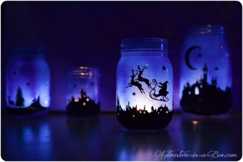 magical Christmas lanterns (via adventure-in-a-box)
