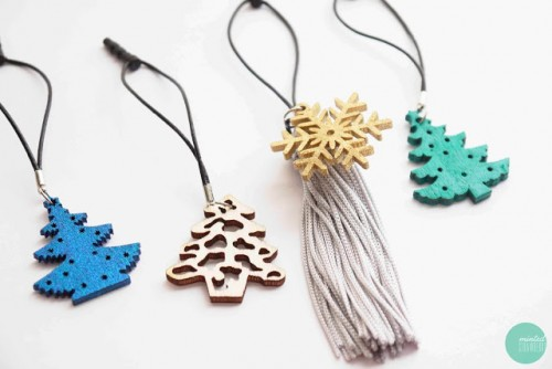 Diy Christmas Phone Charms
