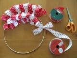 Diy Christmas Ribbon Wreath