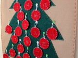 Diy Christmas Tree Advent Calendar