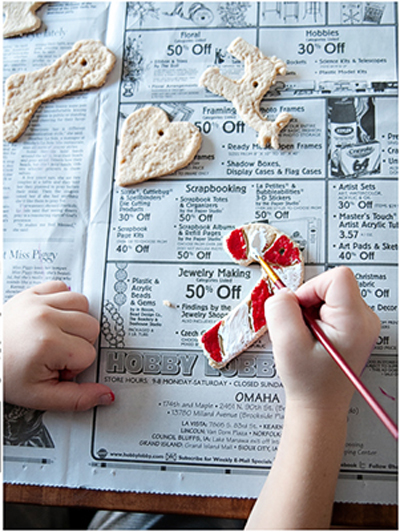 DIY Salt Dough Ornaments (via thishomemadelife)