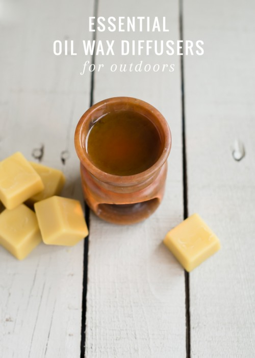 DIY Citronella Oil Wax Diffusers