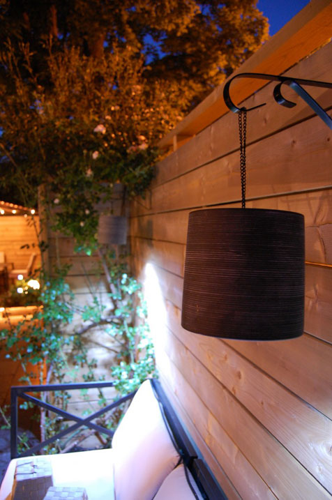 DIY Clay Outdoor Hanging Lamp