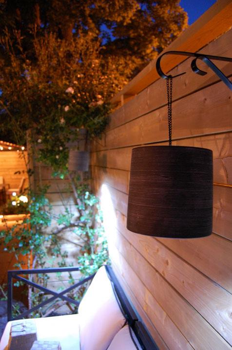 DIY Clay Outdoor Hanging Lamp