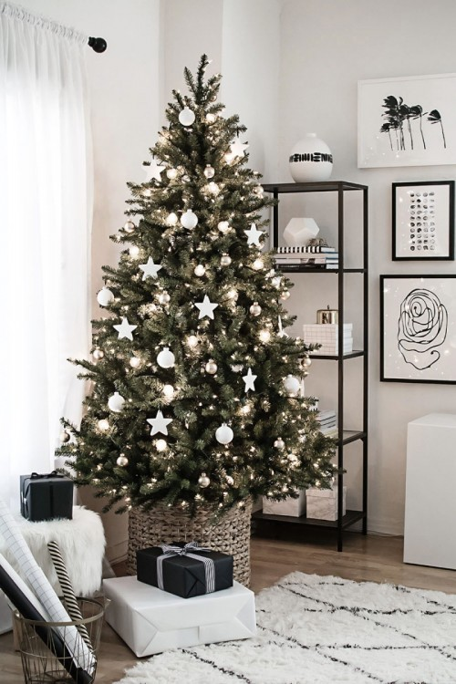 DIY Clay Star Christmas Tree Ornaments