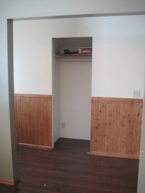 Hallway Closet Before