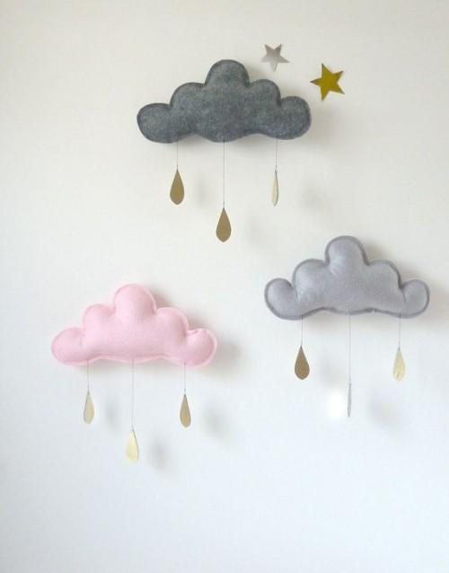 rainy clouds mobile (via victoriabrikho)