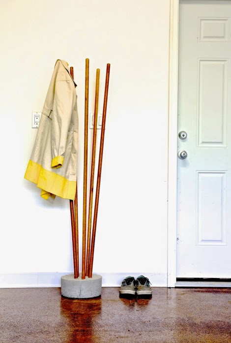 broomstick coat tree