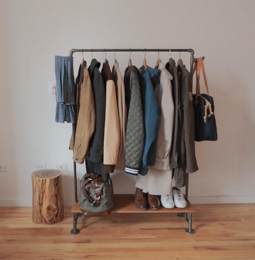 vintage coat rack (via shelterness)