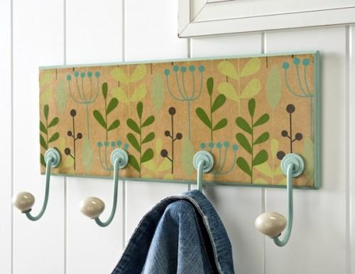 floral coat rack (via modpodgerocksblog)