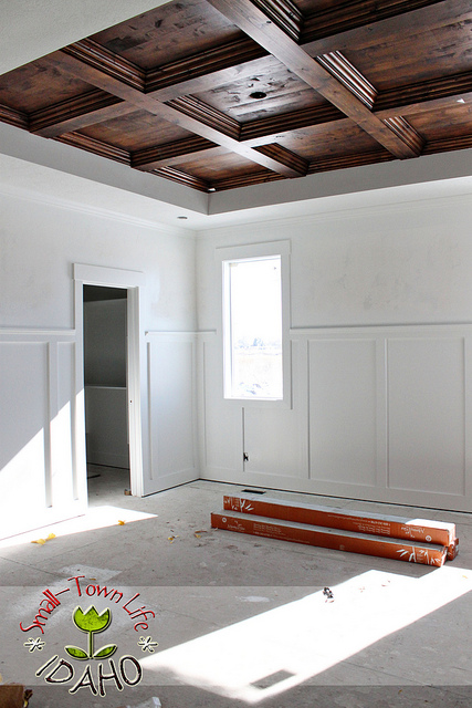 6 Diy Coffered Ceiling Projects Shelterness